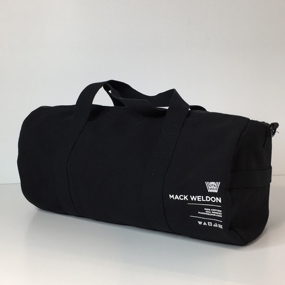 c0b6d1f28783 Mack Weldon Other - Mack Weldon Black canvas weekend gym bag pack